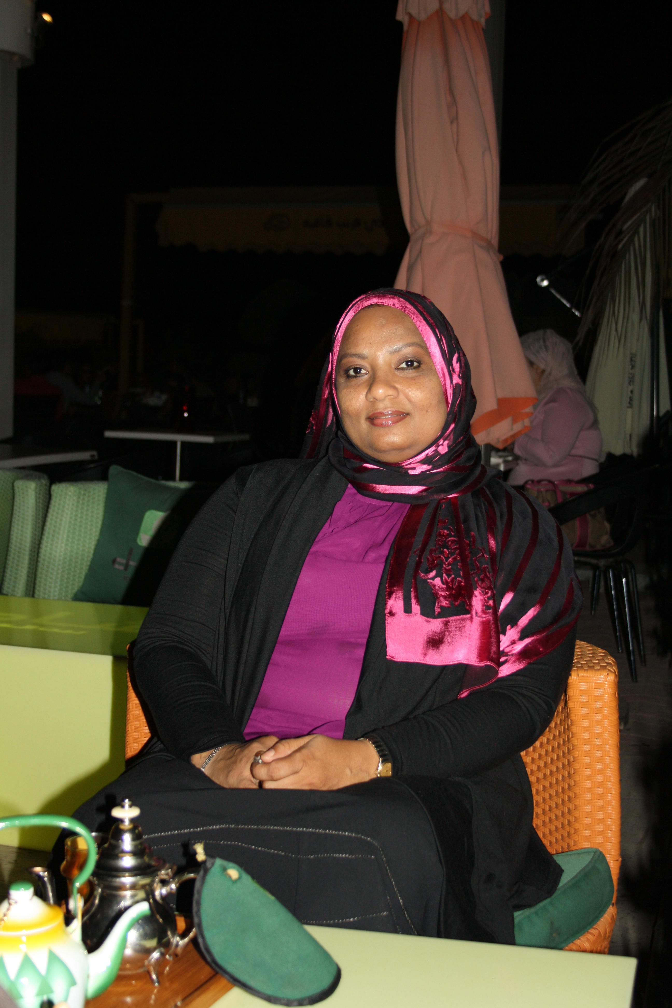 Activist Habiba Al Hinai