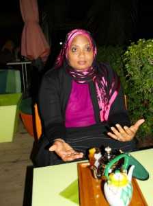 Anti FGM activist Habiba Al Hinai