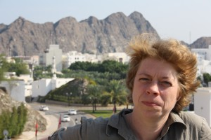 Stop FGM Middle East Campaigner Hannah Wettig in Oman 2013